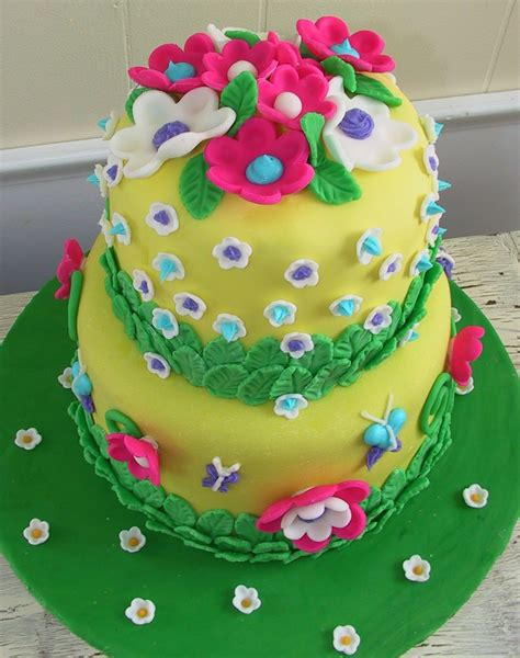 Birthday Cake Ideas by Delicious Cake Flower Birthday Cake Ideas