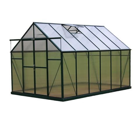 shop grandio greenhouses 12 ft l x 8 ft w x 7 75 ft h