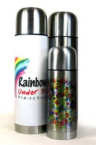 personalised thermos flask