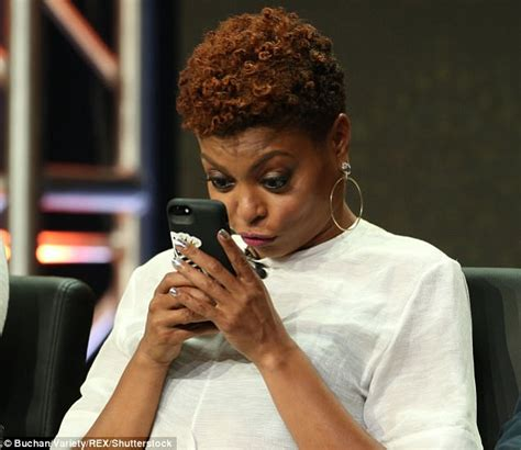 short hair cut from empire tv show taraji p henson shows off newly shorn locks at empire talk
