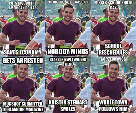 Ridiculously Photogenic Guy Meme - what your favorite internet memes look like in real life