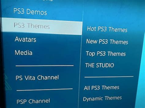ps3 themes in store how to download and install custom ps3 themes
