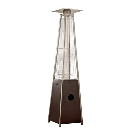 Pyramid Patio Heater Reviews Az Patio Heater Quartz Glass Hammered And Mocha Bronze Better Priced