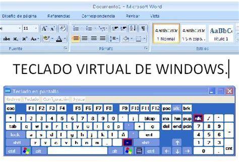 imagenes teclado virtual teclados virtuales educaci 243 n inclusiva y discapacidad