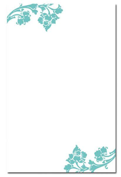Blank Invitation Card For Wedding Design