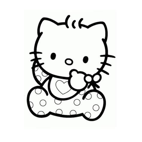 19 Dessins De Coloriage Hello Kitty Coeur 224 Imprimer
