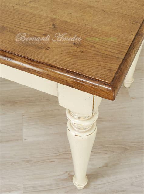tavole e sedie da cucina tavoli country da cucina in legno massello tavoli
