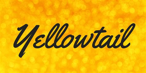 yellowtail font yellowtail font 183 1001 fonts