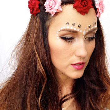 Stores To Buy Home Decor Custom Flower Crown Pastel Floral From Thebohipstian On Etsy