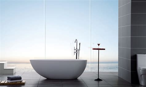modern freestanding bathtubs ethos luxury modern bathtub 67 quot