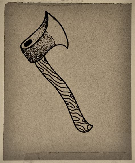 axe tattoo on behance