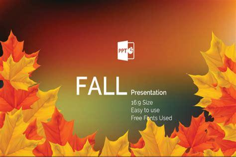 35 Powerpoint Templates Free Premium Templates Free Autumn Powerpoint Templates