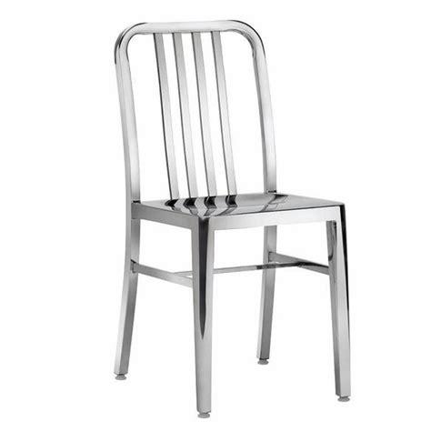 chaises aluminium mobilier graphique et sculptural galerie photos d