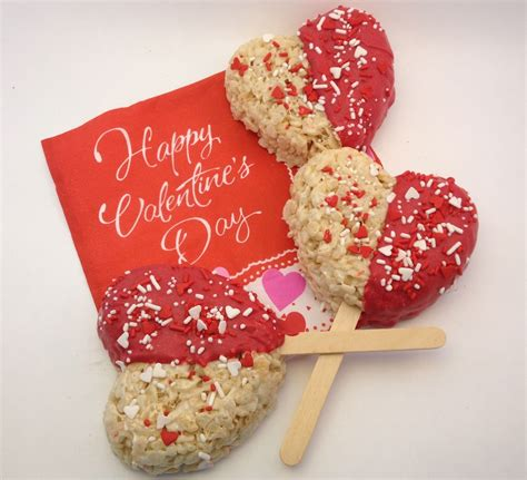 valentines day rice krispies treats eatbydate