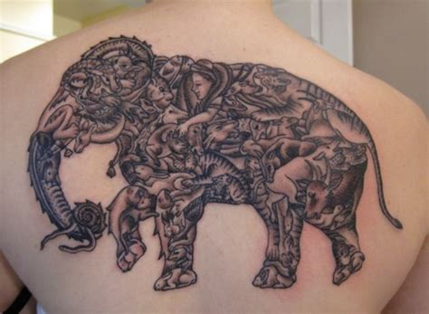 war elephant tattoo animal tattoos and designs page 22
