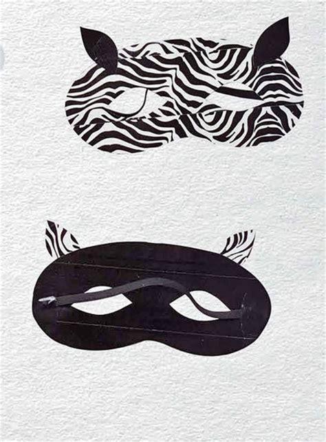 zebra mask pattern duct tape crafts zebra mask craftfoxes