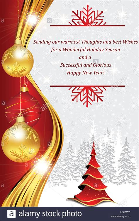 business greeting card  christmas   year    stock photo royalty