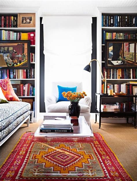 colorful living room rugs best 25 cozy den ideas on pinterest blue library