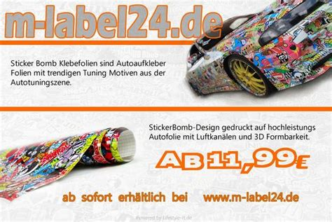 Autofolie Kaufen Reutlingen by Auto Folien Stickerbomb Folie 3d Folie In Reutlingen