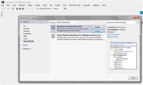 git extensions tutorial visual studio 2010 git and dropbox integration within visual studio
