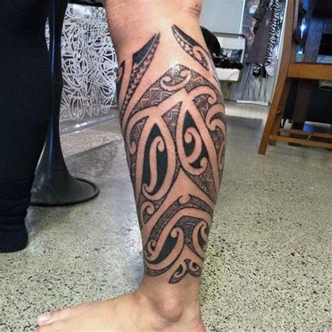 tribal tattoos calf muscle 13 best calf designs for images on