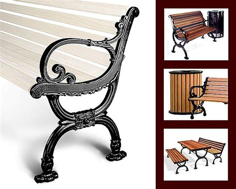 cast iron park bench ends park bench end build your own cast iron and cast aluminum benches parkbenchend com