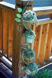 outdoor decorations for garden decorations made from junk garden art from trash metal garden art outdoor