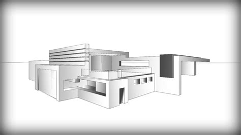 modern house drawing easy modern house drawing modern house