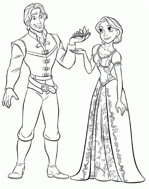 coloring page of a get this tangled coloring pages ycbt9