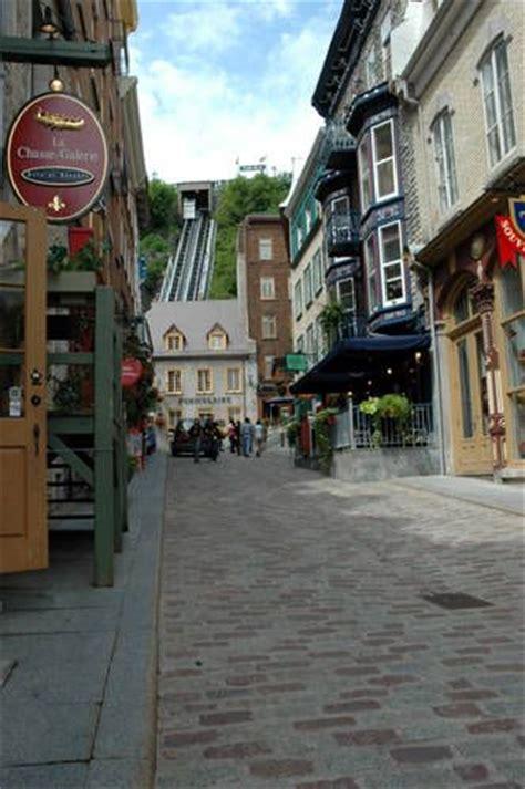 tattoo shop quebec city old quarter cobblestone streets quebec city quebec