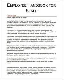 employee guidelines template employee manual template template idea