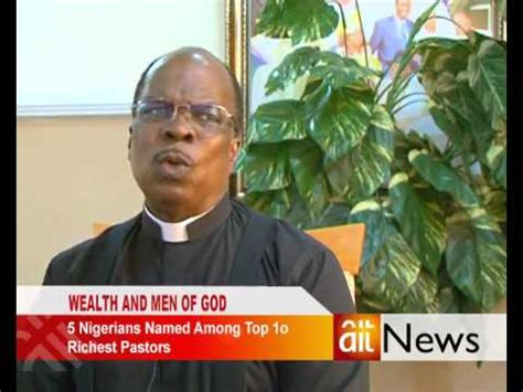 5 nigerians named among top 10 richest pastors