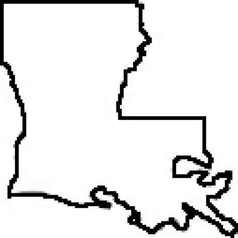 louisiana map black and white louisiana clip quotes