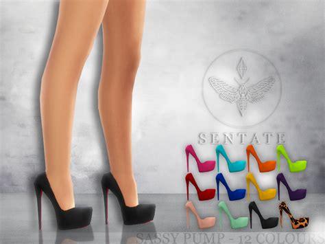 sims 4 platform heels sentate s sassy pump