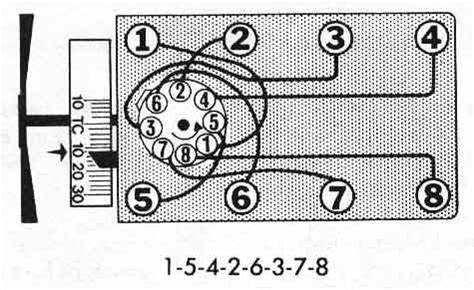 Ford 302 Firing Order by Firing Order Picture For A 302 Cleveland 1971 Ford