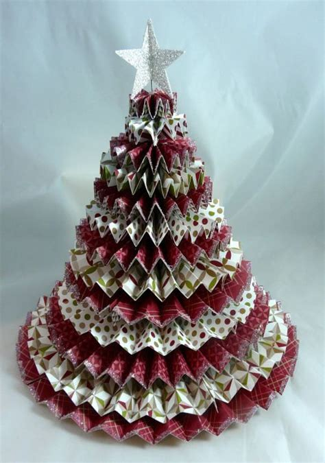 3d paper christmas tree with ribbon 1000 images about rosette ideas on stin up sting and trees
