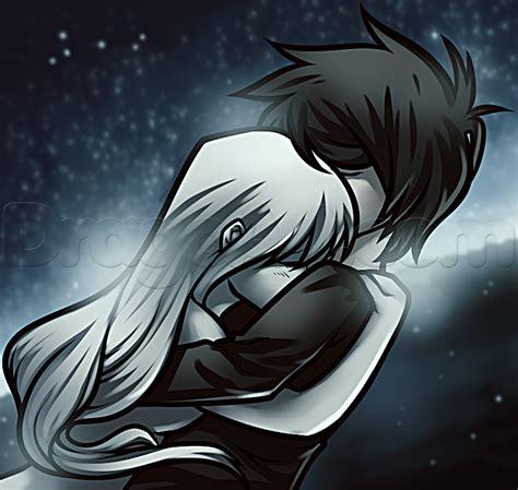 Anime Hug by How To Draw An Anime Hug Step By Step Anime