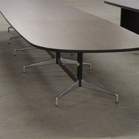 Herman Miller Meeting Table Metro Retro Furniture 18ft Vintage Herman Miller Eames Conference Table