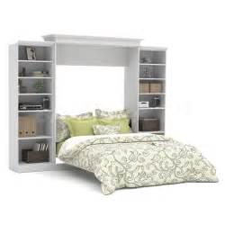 White Murphy Bed Kit Murphy Beds Versatile By Bestar 115 Wall Bed Kit