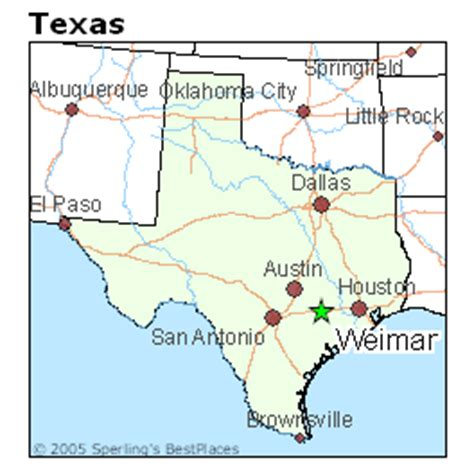 weimar texas map best places to live in weimar texas