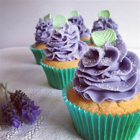 lavender new year goodies lavender infused cupcakes the smallseed