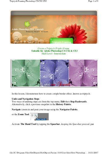 tutorial of adobe photoshop in pdf adobe photoshop pdf tutorials snap type around a ferris