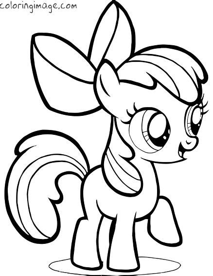 coloring pages printables my little pony my little pony coloring page apple bloom my little