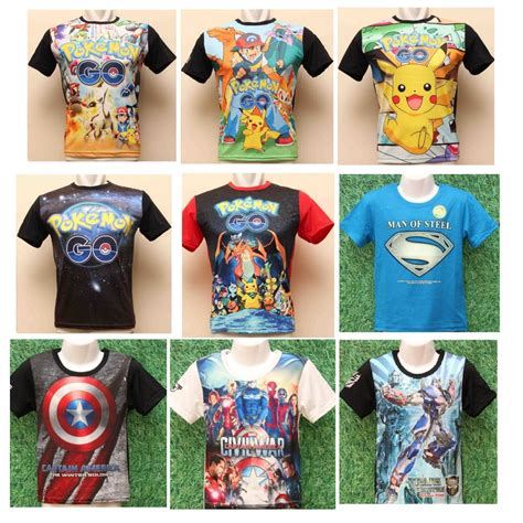 Kaos Ironman 6 kaos boys batman ironman captain america cars