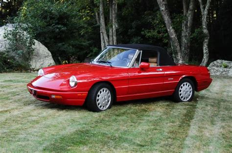 1993 Alfa Romeo Spider by 1993 Alfa Romeo Spider Photos Informations Articles