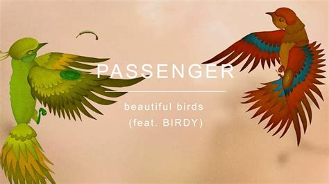 and beautiful testo traduzione passenger beautiful birds feat birdy traduzione in