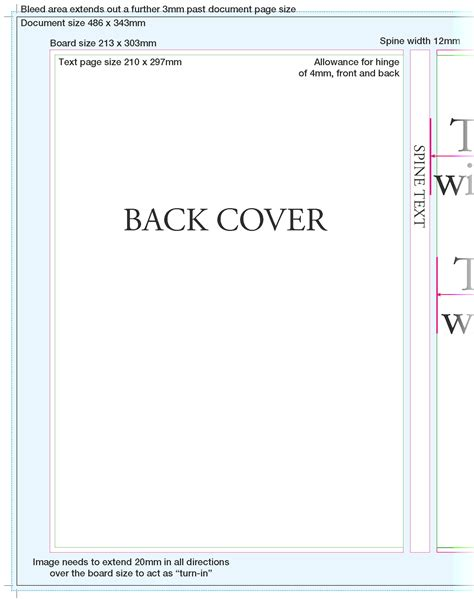 book cover layout size paper over board covers printhouse corporation