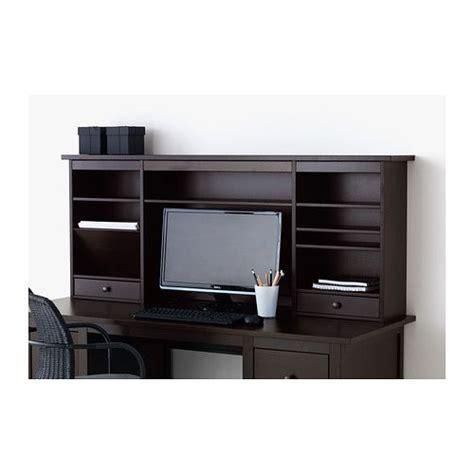 Desk Add On Shelf by Hemnes Add On Unit For Desk Black Brown
