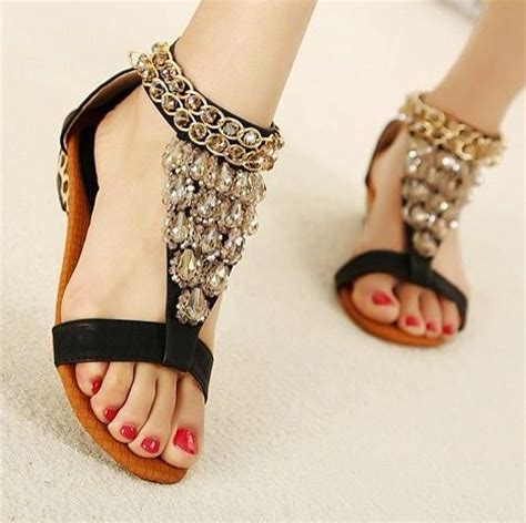 blingy sandals 1000 images about sandalias on thongs