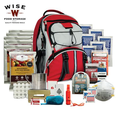 Many Bags And No Sense by Wise Company 5 Day Survival Backpack Budk